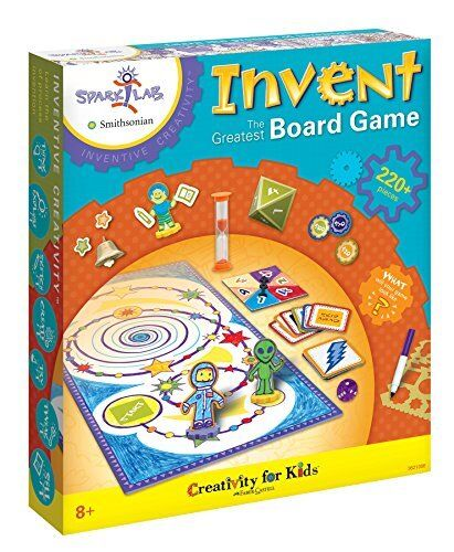 Creativity for Kids CFK3621 Invent the Greatest Board Game