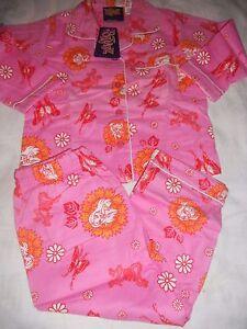 Girls-Bratz-pink-flannelette-winter-pyjamas-Size-2-amp-3-NWT