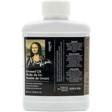 Speedball Mona Lisa Boiled Linseed Oil 8-Ounce 00170-008