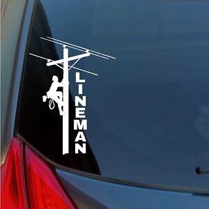 Lineman-vinyl-sticker-decal-electric-power-pole-linewife-car-truck-suv-window