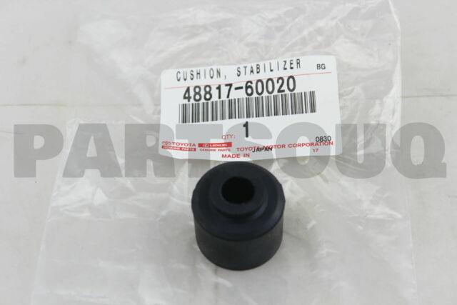 4881760020 Genuine Toyota CUSHION 48817-60020 STABILIZER FOR REAR