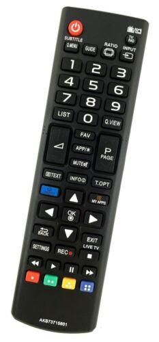 Ersatz Fernbedienung LG Fernseher 60PN6506.AEU 60PN6504AEU