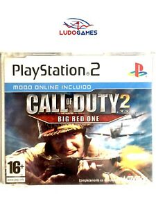 Call-of-Duty-2-Big-Red-One-PAL-EUR-PS2-Promo-Retro-Playstation-Mint-Condition