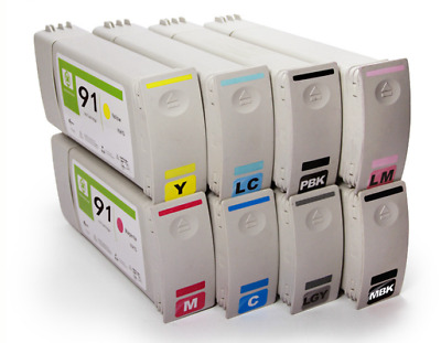 Cyan Z6100 Z6100ps Remanufactured Ink Cartridge for HP C9467A HP 91