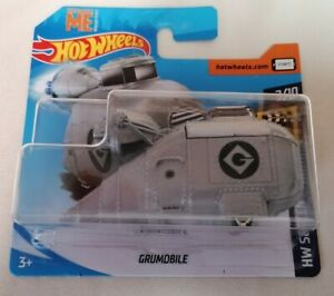Hot-Wheels-Nuevo-y-Sellado-Despicable-Me-grumobile-HW-pantalla-tiempo-2-10-Mattel