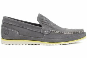 NEW-TIMBERLAND-EARTHKEEPERS-HAYES-VALLEY-LOAFER-Gray-MENS-Driving-Slip-On-NIB