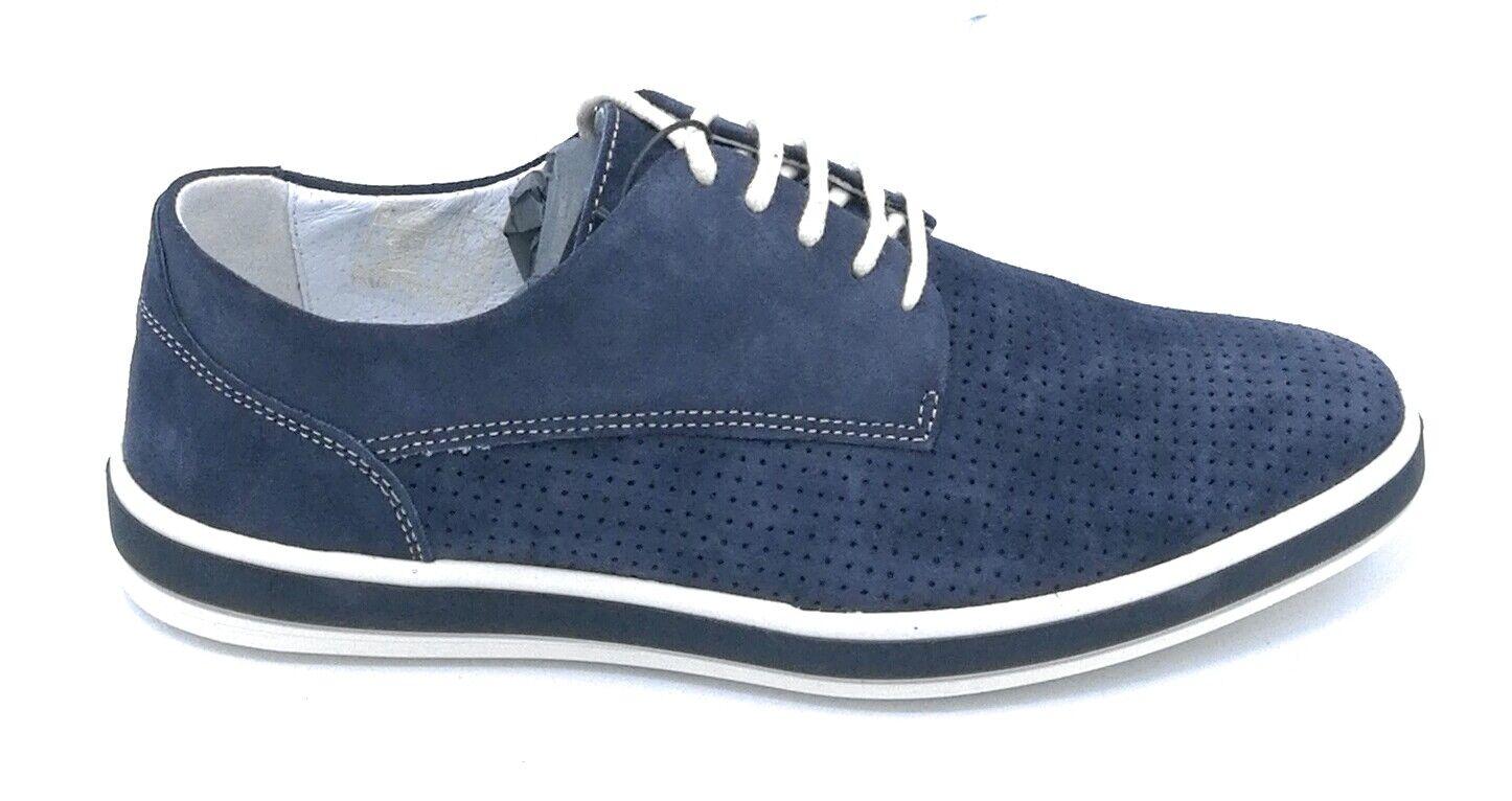 vendite online Igi e Co 3107633 scarpa allacciata camoscio camoscio camoscio jeans microforato  qualità garantita