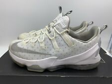info for db0eb f5a6b Nike Lebron XIII 13 Low 831925-100 White Metallic Silver ...