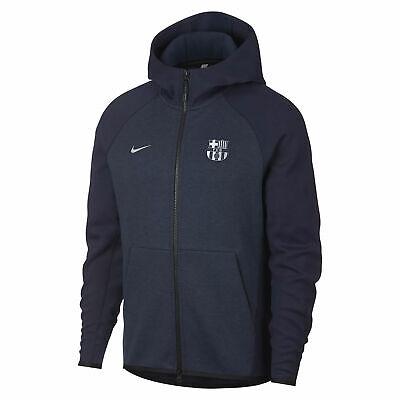 Nike Herren FC Barcelona NSW Authentic Tech Fleece Hoodie Blau ah5199 451 | eBay