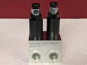 Hawe Hydraulik DMV42 F/F Hydraulic Pressure Limiting / Relief Valve 0613 1409630