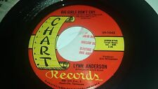 LYNN ANDERSON Big Girls Don't Cry / I Keep CHART 1042 COUNTRY 45 RECORD