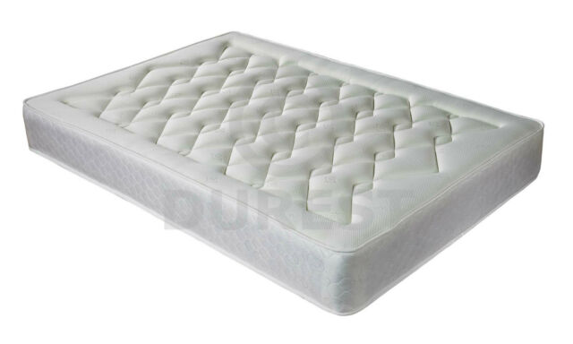 LUXURY QUILTED ORTHOPAEDIC MATTRESS 3FT SINGLE 4FT 4FT6 DOUBLE 5FT KING SIZE 6FT