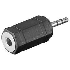 2 ST. Audio-Adapter 2,5mm stereo Stecker>3,5mm stereo Kuppl.