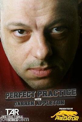 DVD - PERFECT PRACTICE With Darren Appleton sponsored by Predator Cues