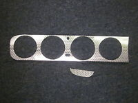 1964 Gto Vinyl Engine Turned Dash Trim For Models With Air