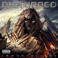 DISTURBED - IMMORTALIZED  CD NEU