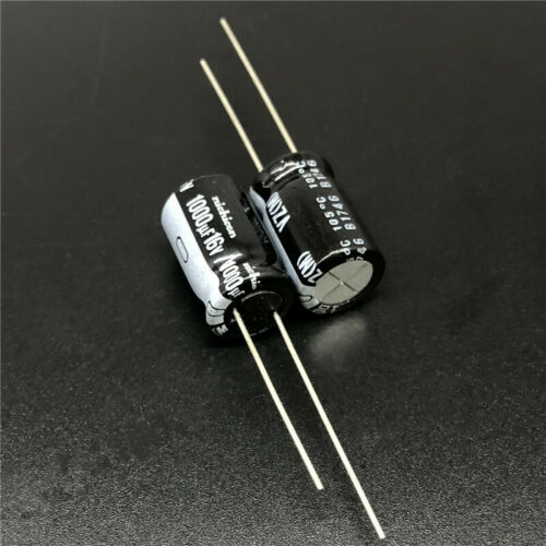 5pcs//50pcs 1000uF 16V1000UF 10x16 Nichicon VZ wide temperature range Capacitor