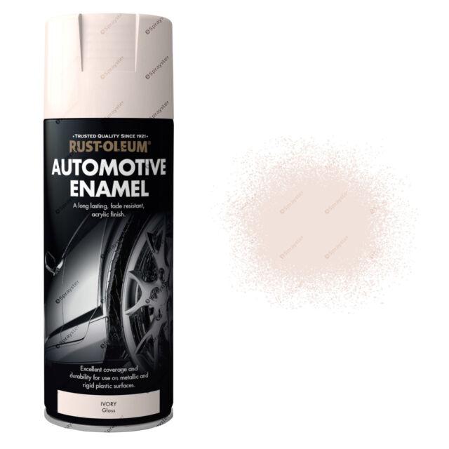 X 1 Rust-Oleum Auto Automóvil Esmalte Coche Pintura en Aerosol Blanco Brillo