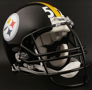 Image is loading MIKE-WEBSTER-52-PITTSBURGH-STEELERS-NFL-Riddell-AUTHENTIC- 6ac5c700c