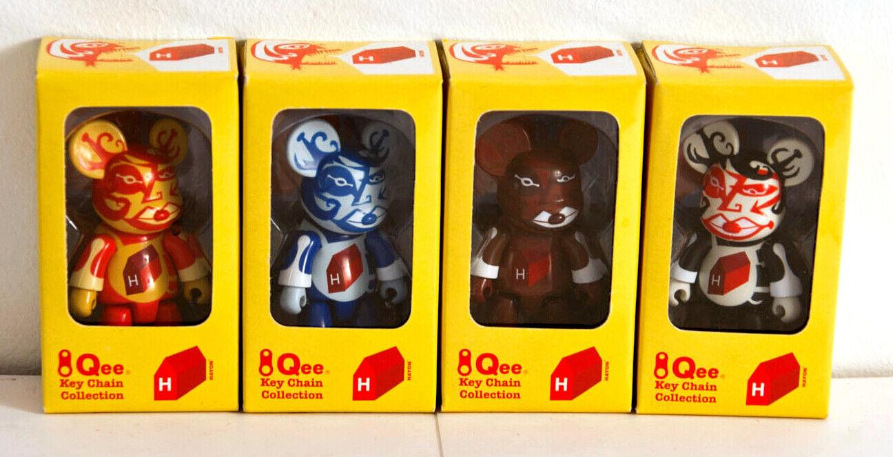 Qee - Jaime Hayon - 2.5  - Set of 4 - giocattolo2r - Kidrobot art lau