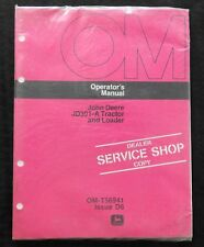 1976 JOHN DEERE 301 JD301-A TRACTOR AND LOADER OPERATORS MANUAL MINT SEALED