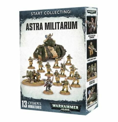 Start Collecting Astra Militarum Warhammer 40k Games Workshop NEW
