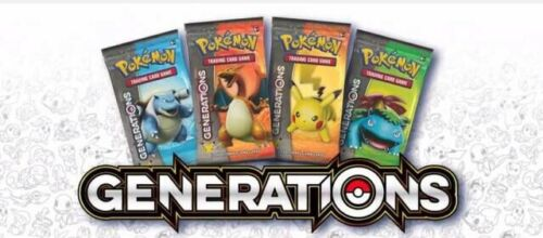 Pokemon Generations Booster Pack Sealed