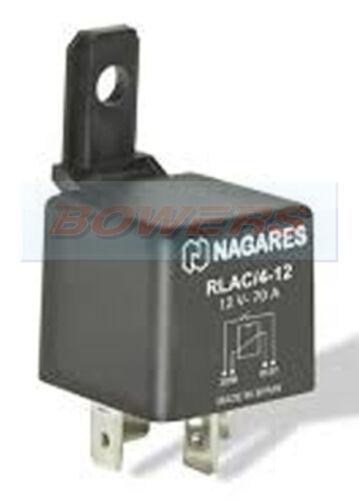 NAGARES RLAC//4-124 PIN 12V 70A NORMALLY OPEN MULTI PURPOSE MINI RELAY