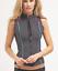 prAna Kelis Vest Black Driftwood Pop Color Neoprene Size S M Womens Full Zip 85$