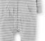 NWT Carters Baby Boys Hooded Fleece Jumpsuit Grey Clothes 6 9 12 18 24months