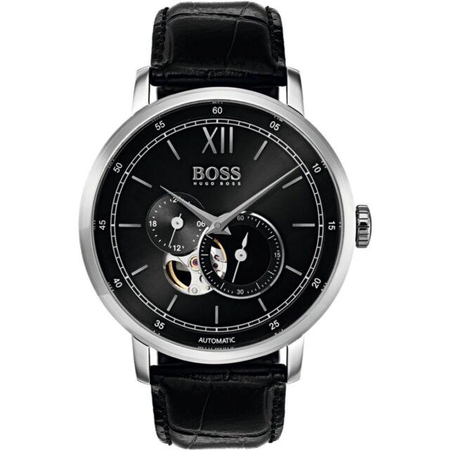 Nuevo Hugo Boss Hb 1513504 Hombre Firma Reloj Automático-2 Años de Garantía