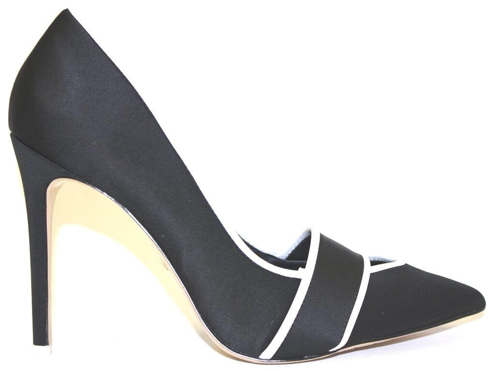 rivenditore di fitness Donna    scarpe GX by Gwen Stefani MACKINZIE Dress Pump Pointed Toe  Satin nero  confortevole