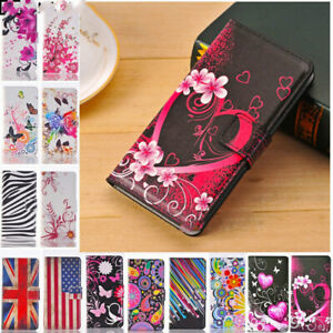 Fashion Leather Design Wallet Book Kickstand Cards Case Cover for Mobile Phone