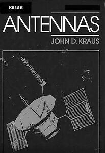 Details about Antennas by John D Kraus * Antenna Theory * Antenna Design *  DVD * PDF * KE3GK