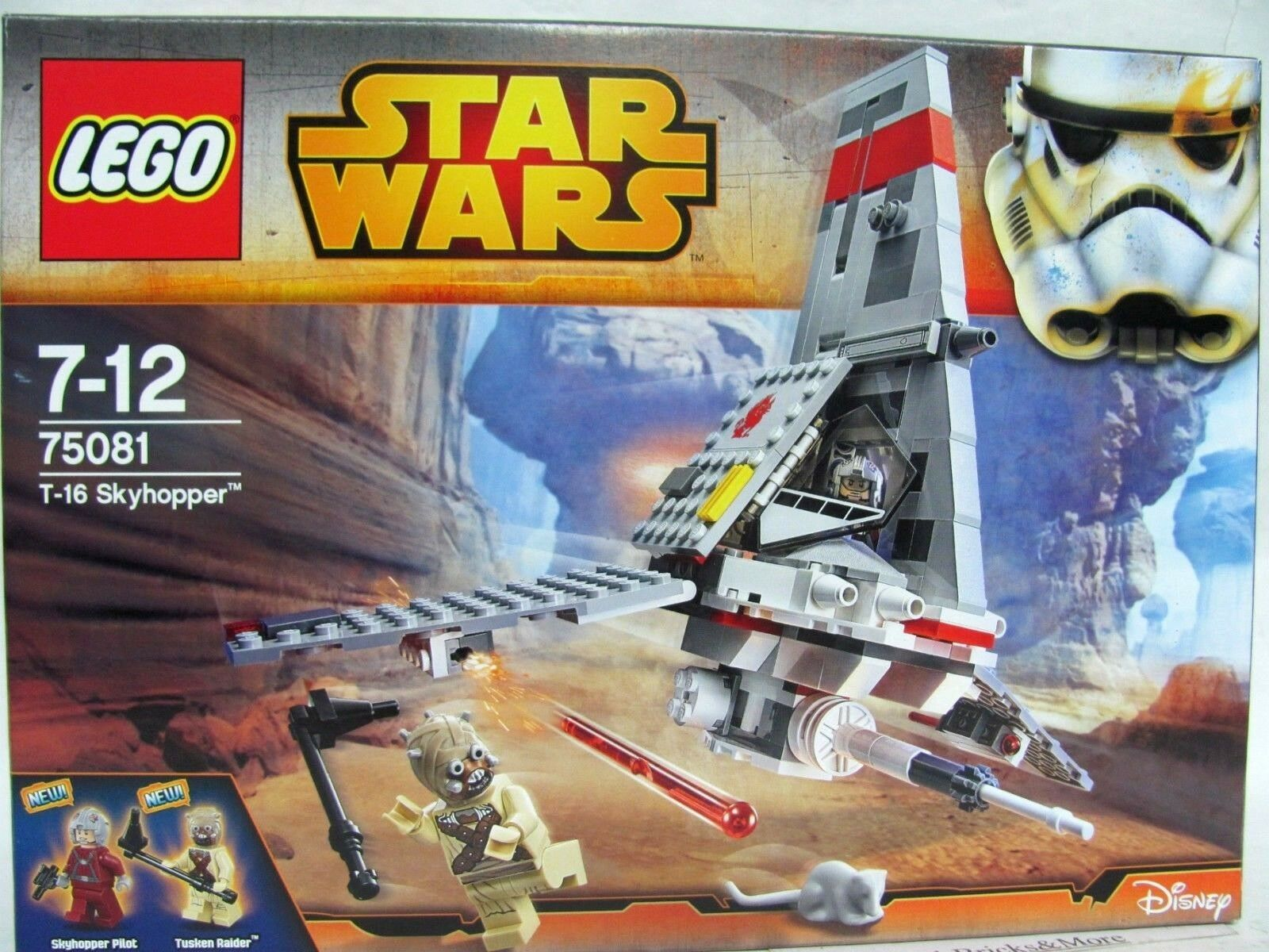 LEGO 75081 StarWars T-16 Skyhopper Neu & OVP 2 Figuren