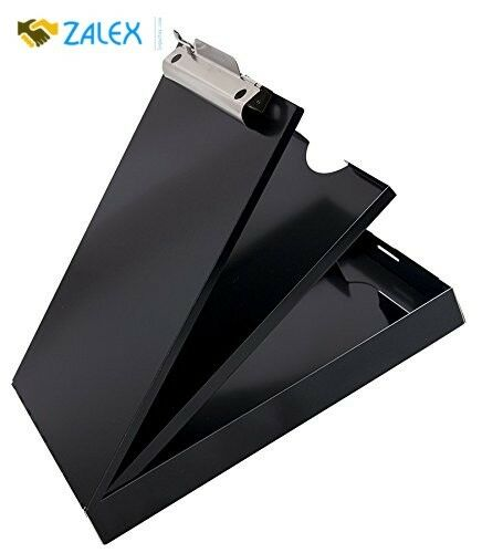"""Cruiser Mate Aluminum Storage Clipboard 1 1//2/"""" Clip 8 1//2 X 12/"""" for Office Tray"""