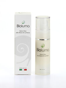 Bioluma Bava di Lumaca Siero Viso 30ml con Acido Ialuronico Made in Italy