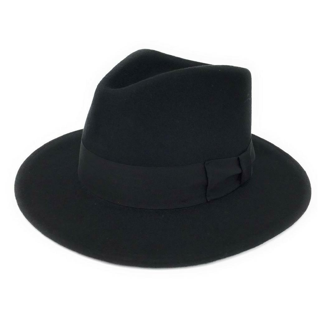 a8086d0aa Cotswold Country Hats 100% Wool Felt Crushable Indiana Fedora Hat ...