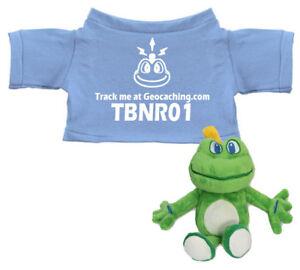 Mini-Signal-the-Frog-T-Shirt-trackbar-hellbllau-TravelTag-Bekleidung-Geocaching