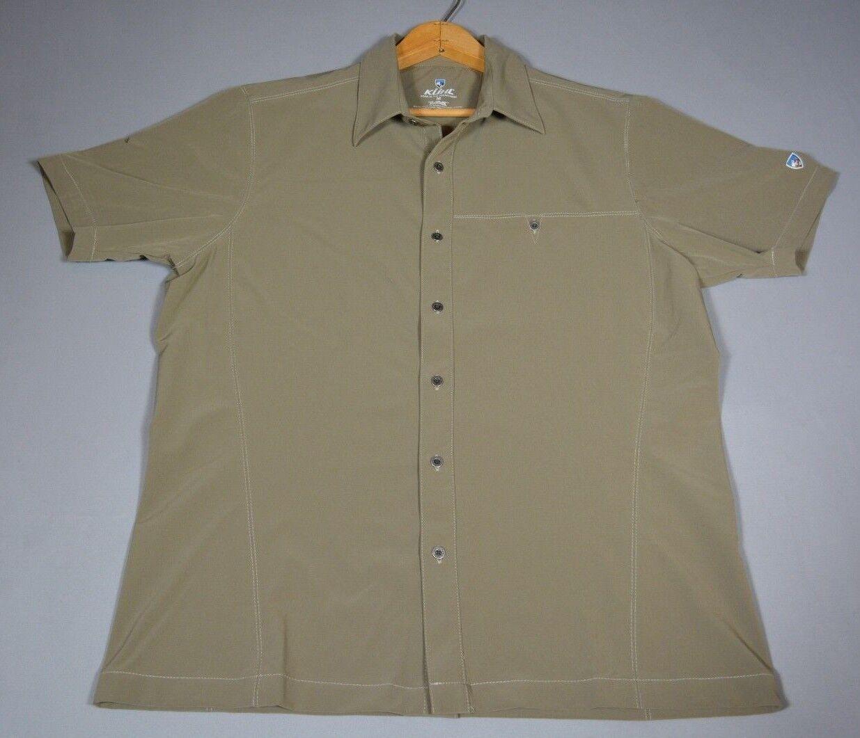 Kuhl Renegade TuffleX Shirt - Khaki - Size M