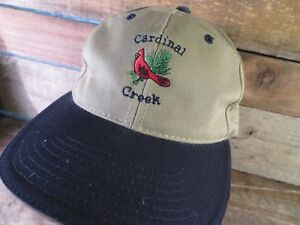 Creek Creek Cardenal Gorra Ajustable Adulto Ajustable Cardenal 4wBRWwSp7