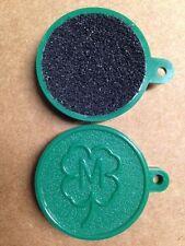 Vintage McDermott Cue Pool Stick Tip Shaper Scuffer Green Key Chain