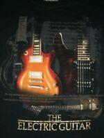 The Electric Guitar Lifestyle Classics Black Men's TShirt XXL
