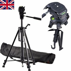 Professional Ball Head DSLR Travel Tripod For Digital Canon Nikon Sony Camera UK