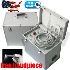 New Listingdental Portable Delivery Mobile Treatment Unit Rolling Suction Air Compressor
