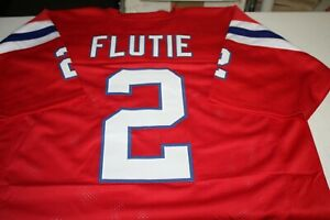 Details about DOUG FLUTIE #2 QB SEWN STITCHED HOME THROWBACK JERSEY SIZE XLG 1985 AFC CHAMPS