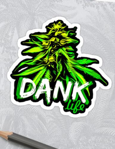 Conjunto de pegatinas de malezas o calcomanía de Kush única fuente de alta crónica cannabis Amoladora Peng