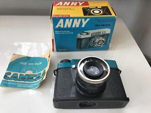 Seltene Vintage Kamera ANNY No.W. 20 aus den 1960er Jahren inkl. OVP Anleitung - Waiblingen, Deutschland - Seltene Vintage Kamera ANNY No.W. 20 aus den 1960er Jahren inkl. OVP Anleitung - Waiblingen, Deutschland