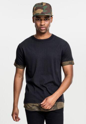 Urban T Maglia Insetato Tb1863 Classica Uomo Shirt Camo T shirt tQshdCroxB