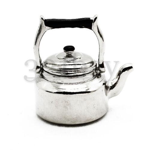 Miniature Tea Pot Miniature Supply Dollhouse Kitchen Accessory Scale Kitchenware